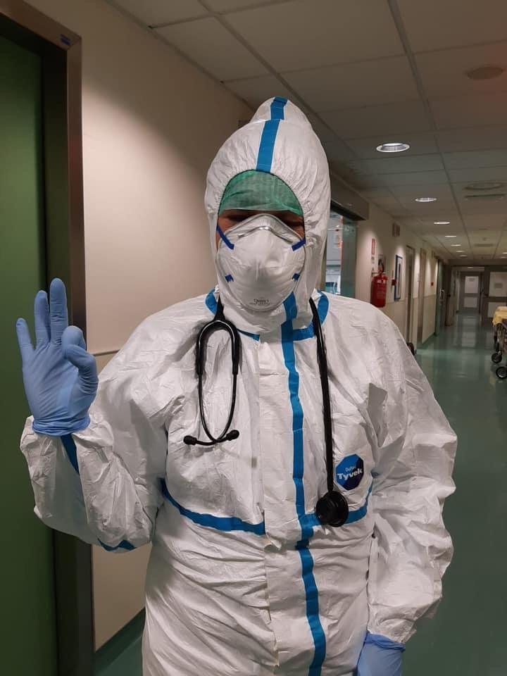 """Benedetta, il medico fiesolano: """"Qui al pronto soccorso, in trincea contro il virus"""""""