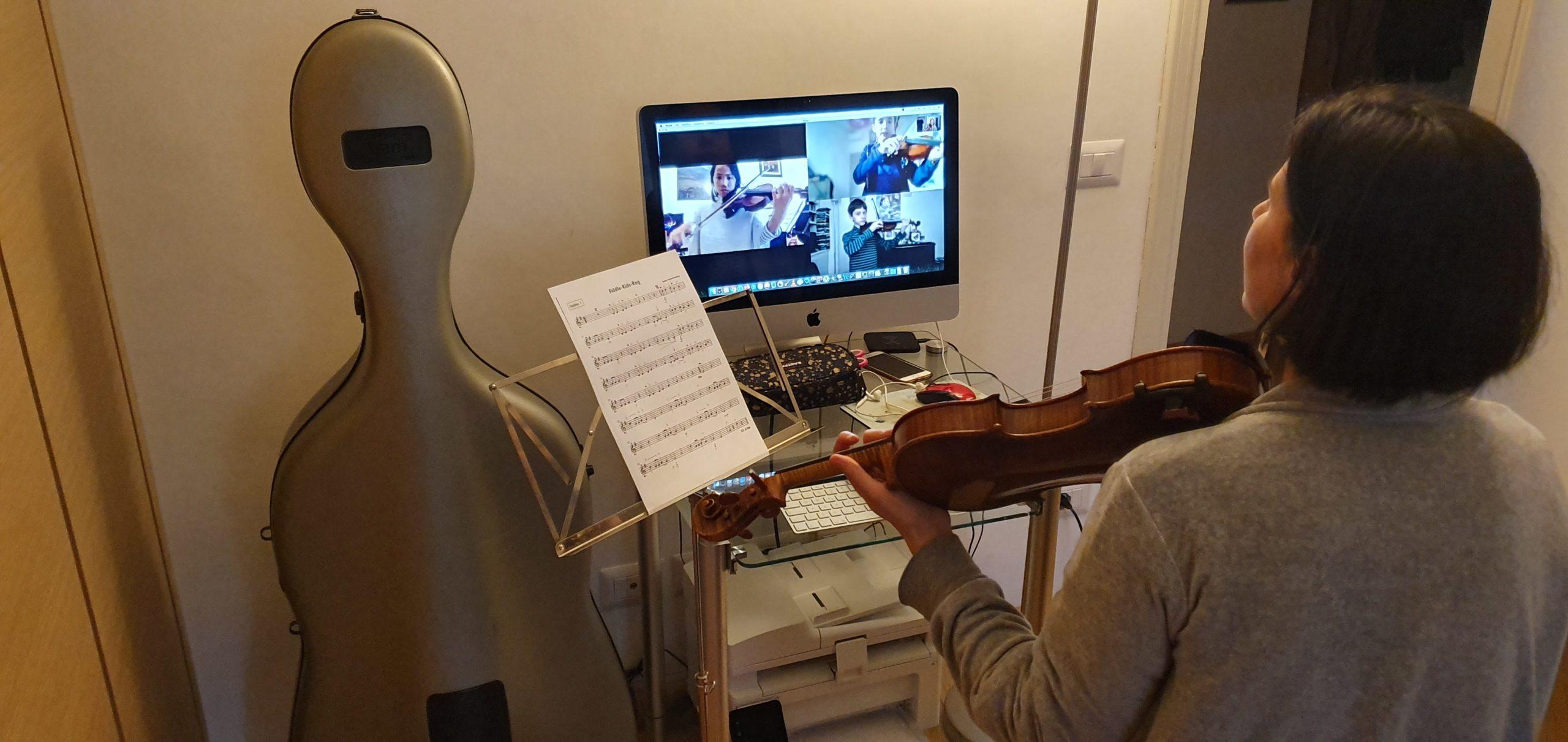 Lezioni a distanza, la scommessa vinta dalla Scuola di Musica di Fiesole per non fermarsi mai