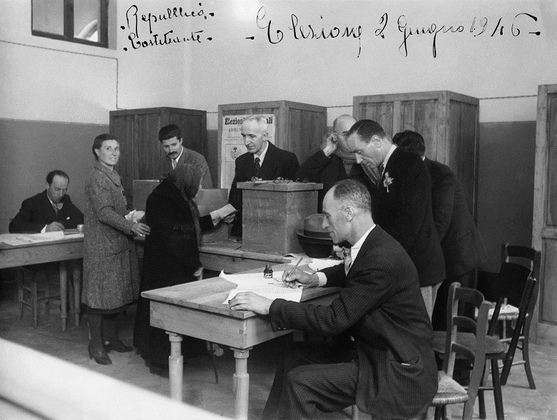 Due giugno 1946: come si votò a Fiesole