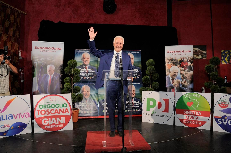 Fiesole: pieno di voti per Giani (62,6%). Ceccardi non sfonda (26,7), crollano i Cinque stelle (5%)