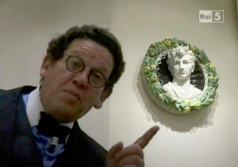 Addio a Philippe Daverio: a Fiesole raccontò il Museo Bandini
