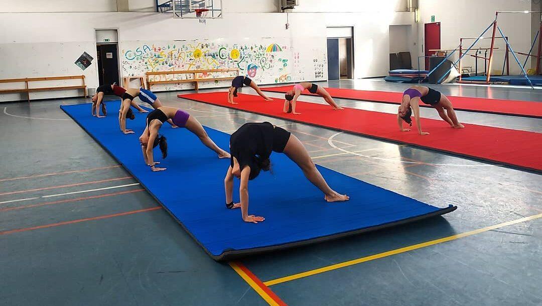 Centro sportivo Anchetta, sospesa la ginnastica artistica