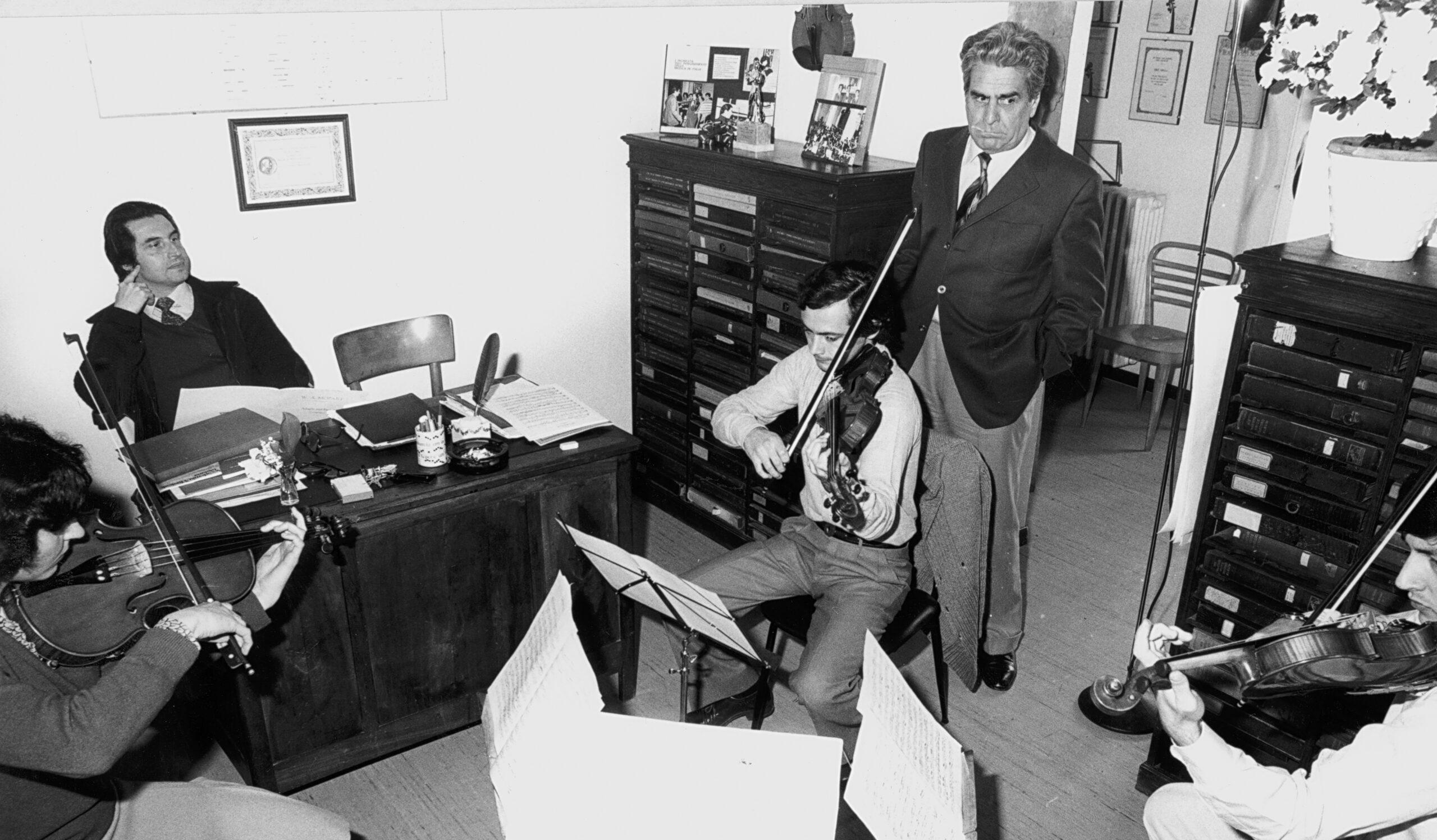 Accardo e Muti al grande convegno online che chiude l'anno dedicato a Piero Farulli: scienziati e musicisti a confronto. Con un appello al Governo: più musica nelle scuole